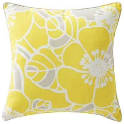 Rapee Cabana Hibiscus Zest Cushion 20x20 (Outdoor)