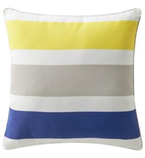 Cabana Splash Cobalt Cushion (Outdoor) ADD INSERT PSF-20X20 - LIQ