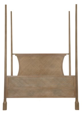 Caprice Four-Poster King Bed - Porcini