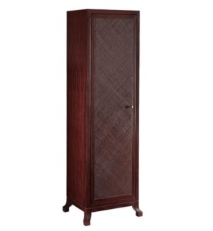Caprice Tall Cabinet in Hazelnut