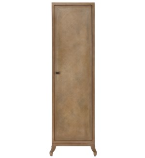 Caprice Tall Cabinet in Porcini