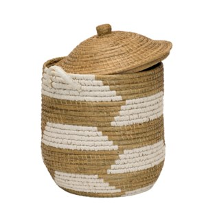 Clemente Lidded Basket