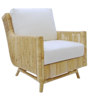 Calistoga Lounge Chair in Natural