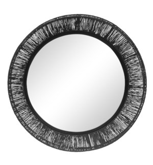 Collins Large Mirror in Black