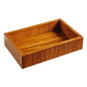Captain's Amenities Tray in Natural