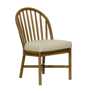 Carousel Side Chair in Nutmeg