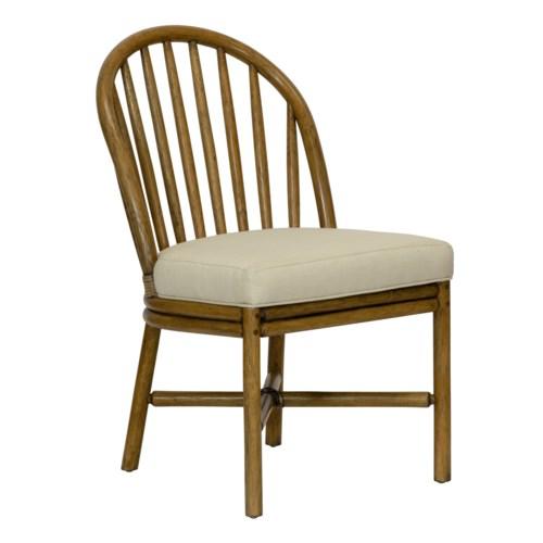 Carousel Side Chair in Nutmeg