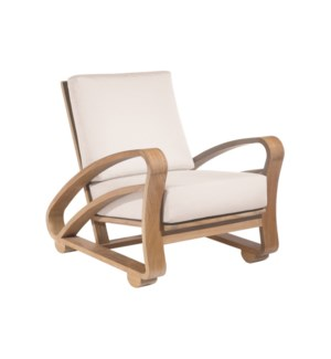Cuban Lounge Chair Outdoor in Natural