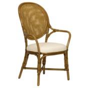 Dahlia Arm Chair - Nutmeg