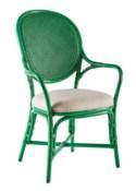 Dahlia Arm Chair - Parsley