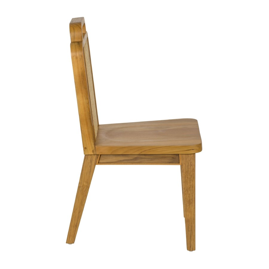 Deco Side Chair in Teak