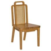 Deco Side Chair in Teak
