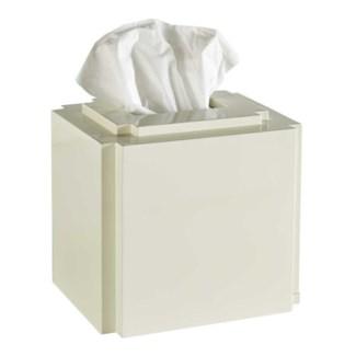 Deco Tissue Cover - White