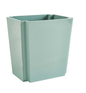 Deco Wastebasket in Ice