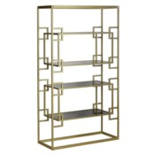 Athens Etagere in Antique Gold