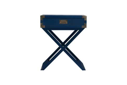 Chiba Side Table in Navy