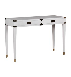 Chiba Console Table in White