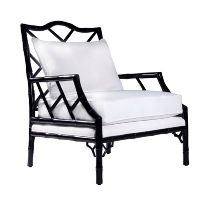 Kennedy Lounge Chair in Ebony Lacquer