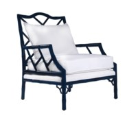 Kennedy Carver Chair - Navy Lacquer
