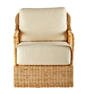 Desmona Lounge Chair in Natural