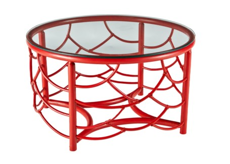 DOT Coffee Table - Antique Red