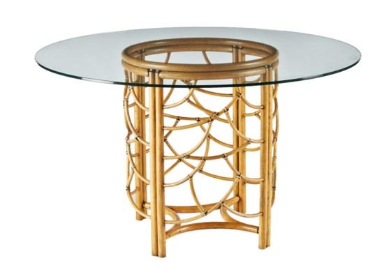 DOT Dining Table Base in Nutmeg