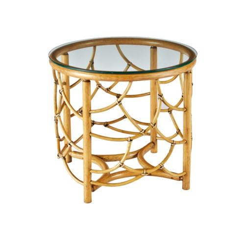 DOT Side Table in Nutmeg