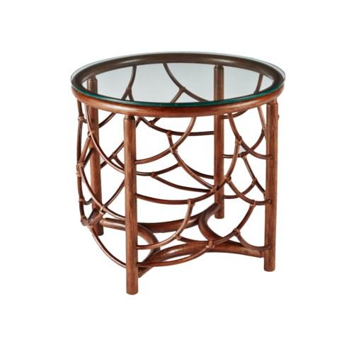 DOT Side Table in Walnut