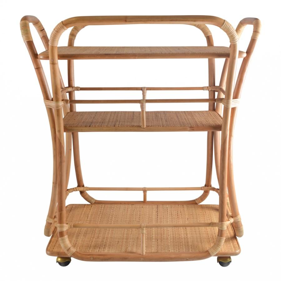 Edith Bar Cart in Natural
