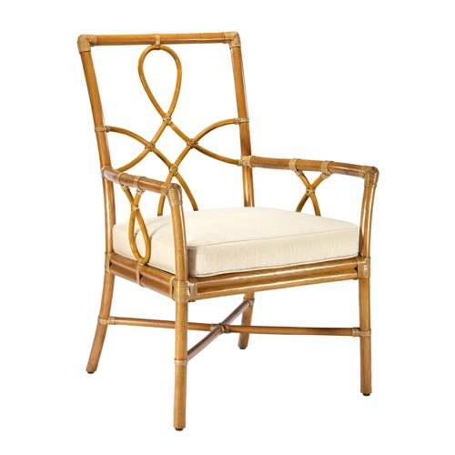 Elise Arm Chair in Nutmeg