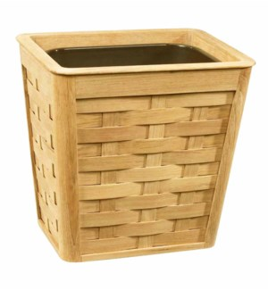 Woven Wastebasket in Natural