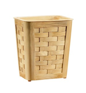 Woven Small Wastebasket in Natural