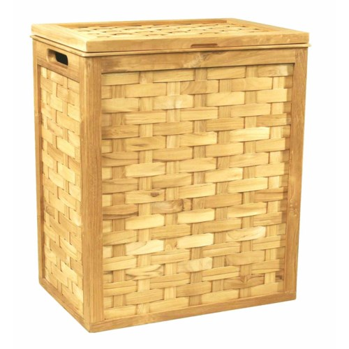 Woven Hamper in Natural