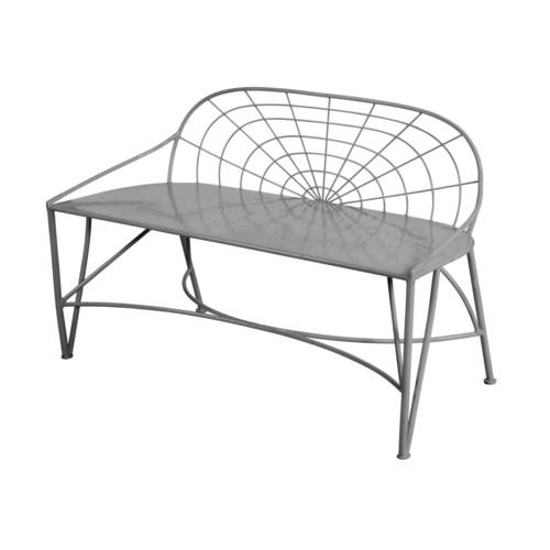 Mayfair Garden Bench in Grey - Inactive