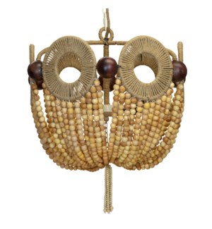 Mayfair Bead Chandelier in Natural