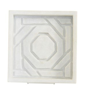 Marble Dish - Octagonal Lattice