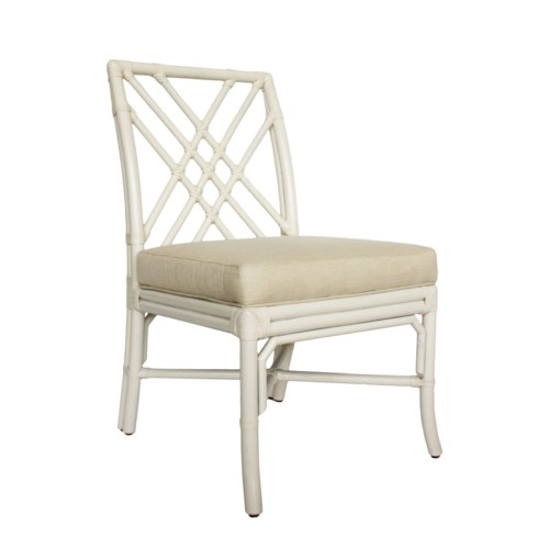Pagoda Side Chair in White