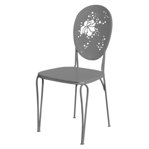 Mayfair Bistro Chair in Grey - Inactive