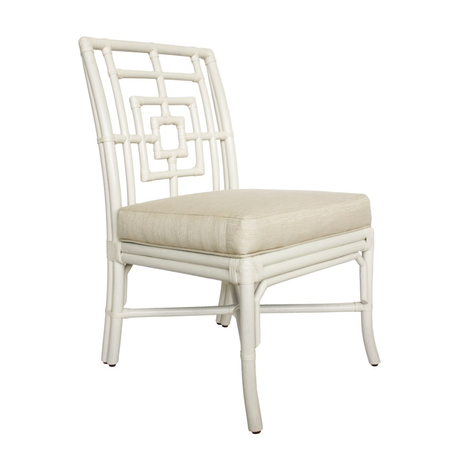 Squares Side Chair in White