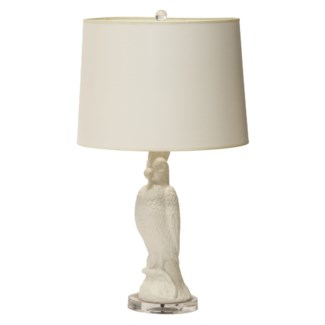 Mayfair Cockatoo Lamp in White