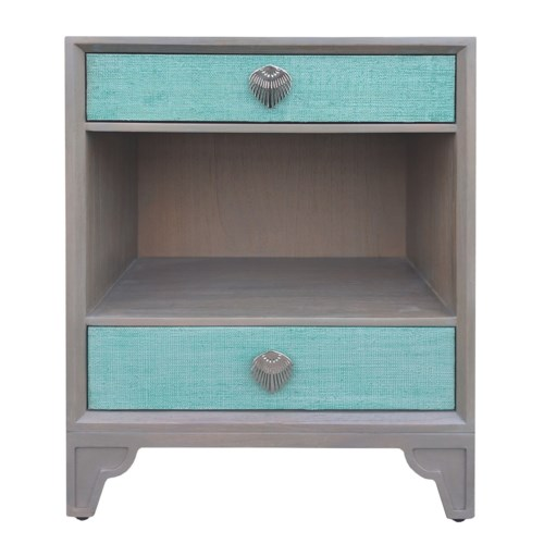 Shanghai Nightstand in Jade
