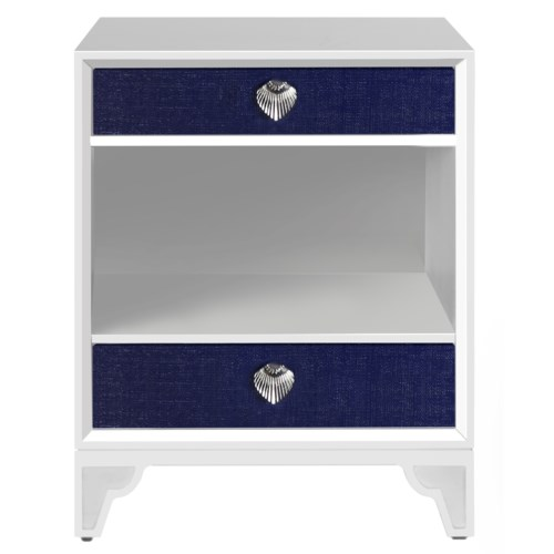 Shanghai Night Stand in Navy