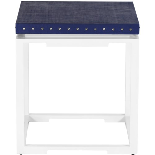 Shanghai Side Table in Navy