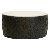 Sydney Mod Pomegranates Coffee Table in Black