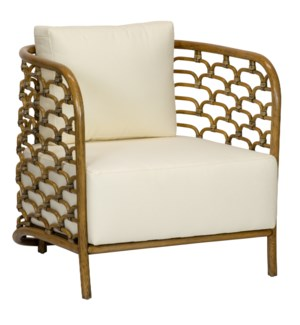 Steps Lounge Chair in Nutmeg