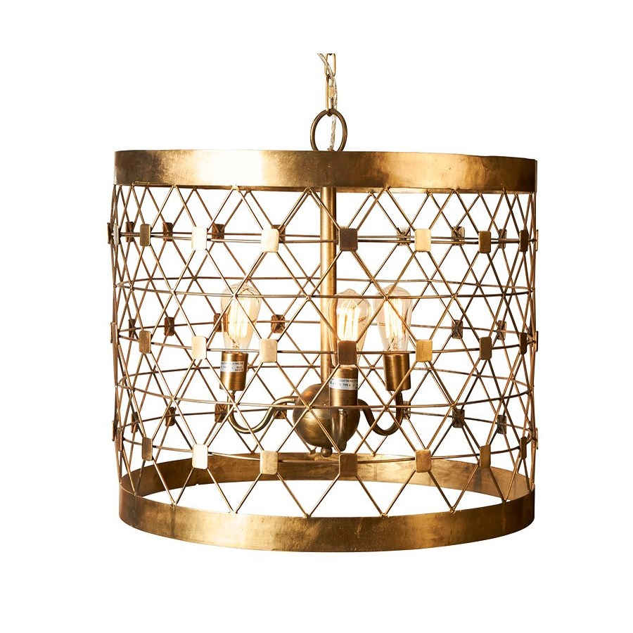 Hollow Squares Chandelier