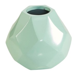 Diamonds Short Vase - Mint
