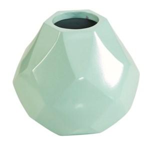 Diamonds Vase in Mint
