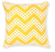 Rapee Fizz Yellow Cushion 18x18