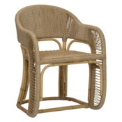 Glen Ellen Arm Chair in Natural